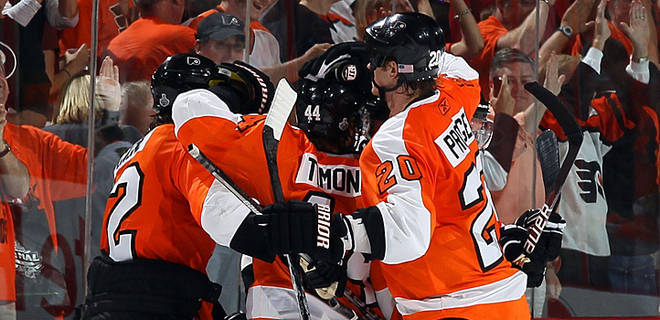 Tangential Reality: Flyers Shine on the League's Biggest Stage