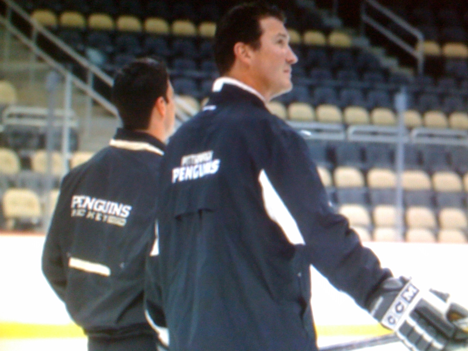 Crosby and Lemieux Christen the Consol Energy Center Ice