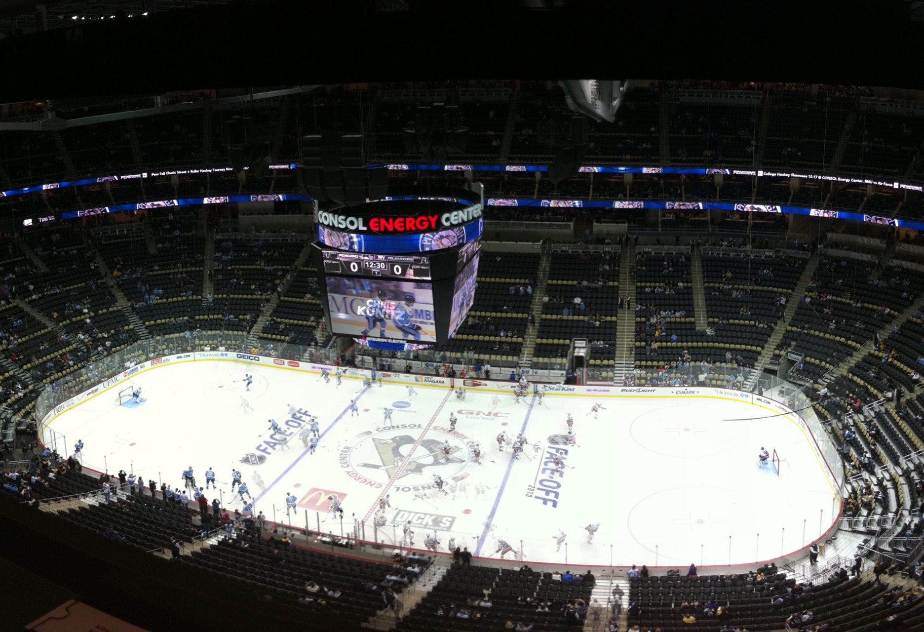 Penguins v Islanders – Live at the CONSOL Energy Center