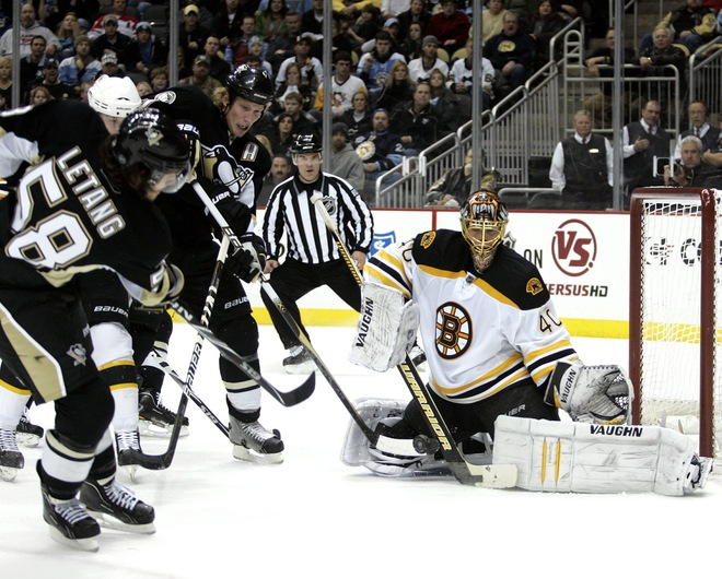 Two Months Later – Same Result: Bruins Roar Past Penguins With Four Goal Outburst