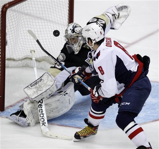 Pens provide offense, but no goals in 1-0 loss to Capitals