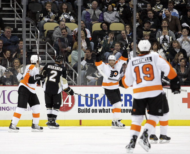 Five Things – Pens Fall to Flyers 5-2…