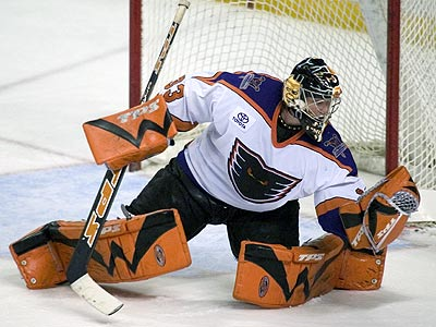 Pens Ink Goaltender Scott Monroe