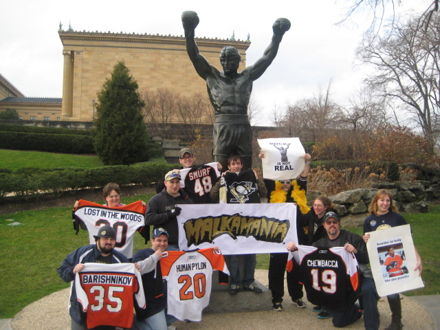 Malkamania Runs Wild: Thoughts and Wrapping up the Philly Trip