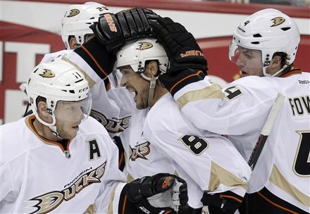 Scifo on the Pens: Selanne, Ducks shut down Malkin, snap Pens' home win streak
