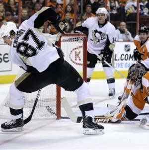 Game 1: Penguins Knock Off Flyers 3-1