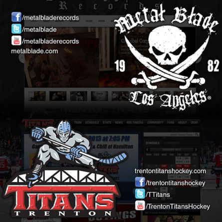 Metal Up Your … Glass? Metal Blade Records Declares Metal's Official Hockey Team