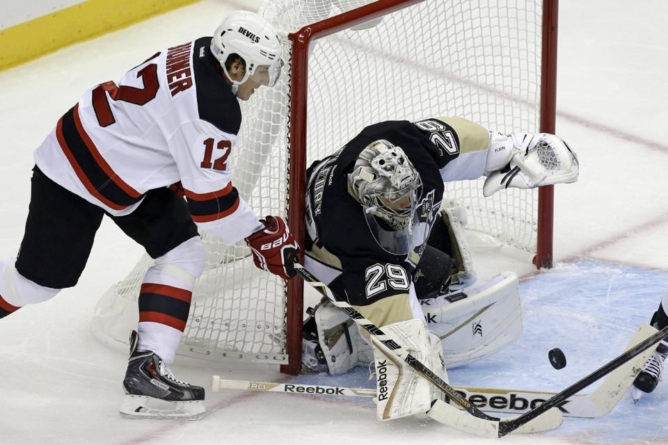 Scifo on the Pens: Fleury shines during season-opening shutout against Devils