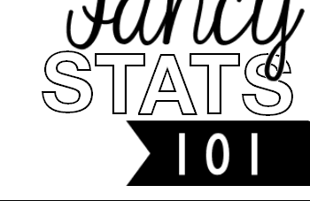 Statistically Speaking – a look at advanced statistics