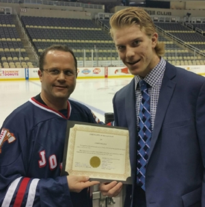 Sabres' Nelson first from Johnstown Tomahawks to reach NHL