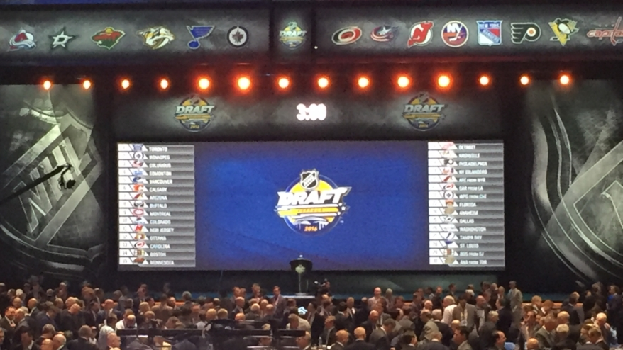 NHL Draft Round One — Matthews goes first, moves abound, Thoughts from Jim Rutherford