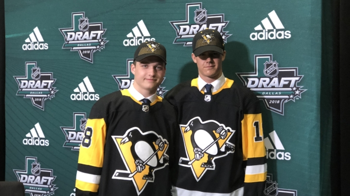 Updates throughout: Penguins pick two in the second round in Dallas